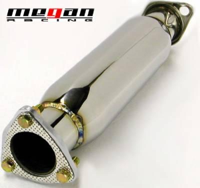 Exhaust - Exhaust Pipes - Megan Racing - Mitsubishi Lancer Megan Racing Exhaust Resonator Test Pipe - CC-MLE03