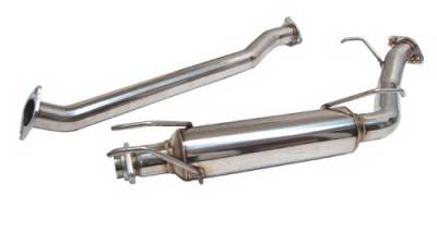 Exhaust - Exhaust Pipes - Megan Racing - Honda Civic 2DR Megan Racing Mid Section Pipe for Axle-Back Exhaust Systems - MIDPIPE-HCV06SI
