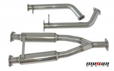 Exhaust - Exhaust Pipes - Megan Racing - Infiniti M45 Megan Racing Mid Section Pipe for Axle-Back Exhaust Systems - MIDPIPE-IM05