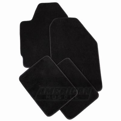 Car Interior - Floor Mats - Lloyd Mats - Ford Mustang Lloyd Mats Black Floor Mats - 93056