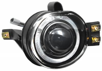 Headlights & Tail Lights - Fog Lights - In Pro Carwear - Dodge Ram In Pro Carwear Halo Projector Fog Lights - CWF-408C2
