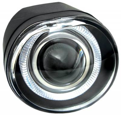 Headlights & Tail Lights - Fog Lights - In Pro Carwear - Jeep Liberty In Pro Carwear Halo Projector Fog Lights - CWF-410C2