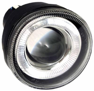 Headlights & Tail Lights - Fog Lights - In Pro Carwear - Dodge Durango In Pro Carwear Halo Projector Fog Lights - CWF-411C2