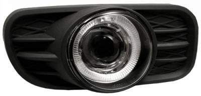 Headlights & Tail Lights - Fog Lights - In Pro Carwear - Jeep Grand Cherokee In Pro Carwear Halo Projector Fog Lights - CWF-5002C2