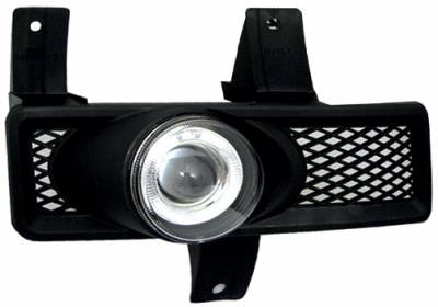 Headlights & Tail Lights - Fog Lights - In Pro Carwear - Ford Expedition In Pro Carwear Halo Projector Fog Lights - CWF-501C2