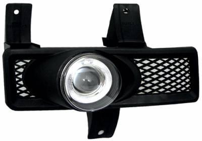 Headlights & Tail Lights - Fog Lights - In Pro Carwear - Ford F150 In Pro Carwear Halo Projector Fog Lights - CWF-501C2