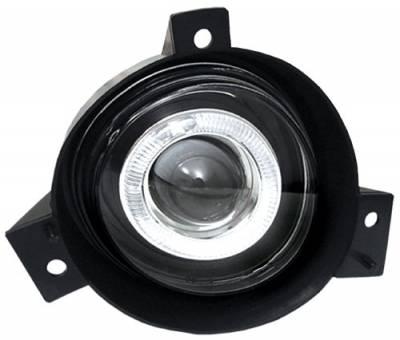 Headlights & Tail Lights - Fog Lights - In Pro Carwear - Ford Ranger In Pro Carwear Halo Projector Fog Lights - CWF-507C2