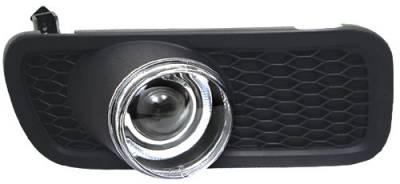 Headlights & Tail Lights - Fog Lights - In Pro Carwear - Ford F150 In Pro Carwear Halo Projector Fog Lights - CWF-538C2