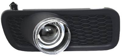 Headlights & Tail Lights - Fog Lights - In Pro Carwear - Ford F250 In Pro Carwear Halo Projector Fog Lights - CWF-538C2