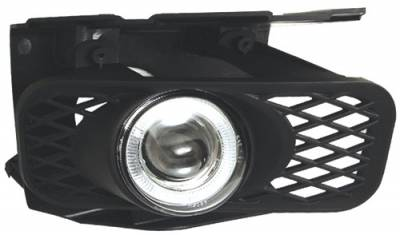 Headlights & Tail Lights - Fog Lights - In Pro Carwear - Ford F250 In Pro Carwear Halo Projector Fog Lights - CWF-541C2
