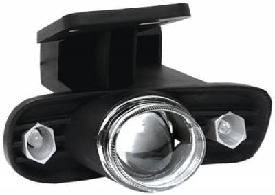 Headlights & Tail Lights - Fog Lights - In Pro Carwear - GMC Yukon In Pro Carwear Halo Projector Fog Lights - CWF-609C2