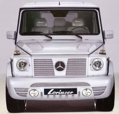 G Class - Front Bumper - Lorinser - Mercedes-Benz G Class Lorinser Front Bumper Spoiler - 488 0463 00