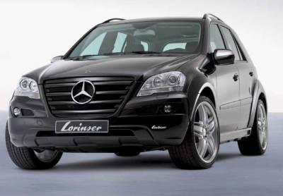 ML - Front Bumper - Lorinser - Mercedes-Benz ML Lorinser Front Spoiler - 488 0164 05