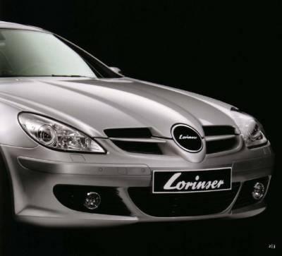 SLK - Front Bumper - Lorinser - Mercedes-Benz SLK Lorinser Evolution Front Bumper Spoiler - 488 0171 05