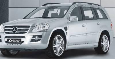 GL Class - Front Bumper - Lorinser - Mercedes-Benz GL Class Lorinser Front Bumper Spoiler - 488 0164 50