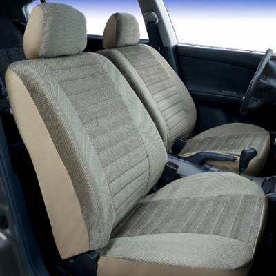 Car Interior - Seat Covers - Saddleman - Chrysler Town Country Saddleman Windsor Velour Seat Cover