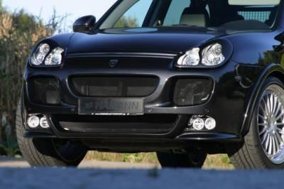 Cayenne - Front Bumper - Hamann - Bumper Spoiler w/ integrated 2 high beams & 2 fog lights (S)
