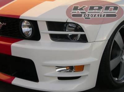 Mustang - Front Bumper - KBD - Ford Mustang KBD K Spec Headlight Splitters 37-2223