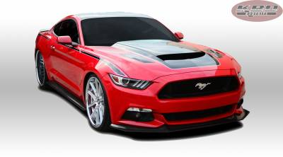 Mustang - Front Bumper - KBD - Ford Mustang KBD Extreme Front Lip 37-6014
