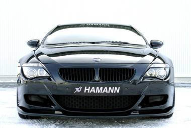 6 Series - Front Bumper - Hamann - M6 Front Add-On Lip in Carbon-Kevlar