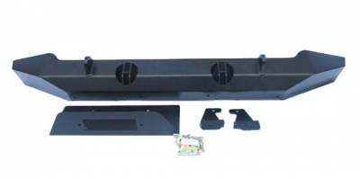 Wrangler - Front Bumper - Hyline Offroad - Jeep Wrangler Hyline Standard Front Bumper Assembly - JK-10SFB