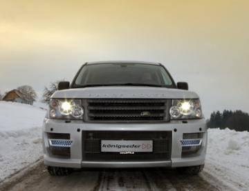 Range Rover - Front Bumper - JR Custom - JR Sport Front Bumper with LED
