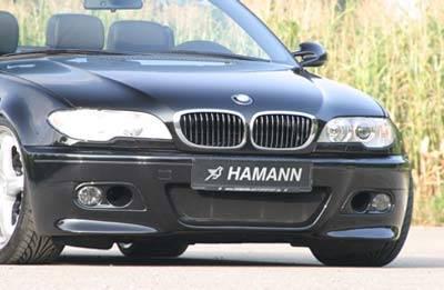 Hamann - Evolution Bumper Spoiler w DE Fog Lights