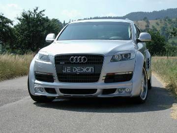Q7 - Front Bumper - JE Design - Q7 Front Spoiler