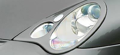911 - Front Bumper - Hamann - Headlamp Covers w.o Headlight Washer