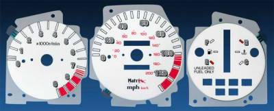 Car Interior - Gauges - Matrix - Reverse Speed Glo Gauges - 11063