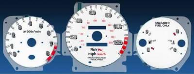 Car Interior - Gauges - Matrix - Reverse Speed Glo Gauges - 11066