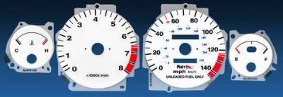 Car Interior - Gauges - Matrix - Reverse Speed Glo Gauges - 11076