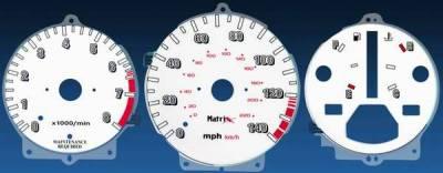 Car Interior - Gauges - Matrix - Reverse Speed Glo Gauges - 11118