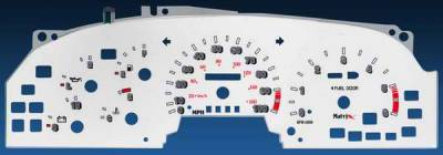 Car Interior - Gauges - Matrix - Reverse Speed Glo Gauges - 11127