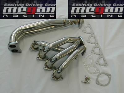 Exhaust - Headers - Megan Racing - Kia Rio Megan Racing Exhaust Header - T304 Stainless Steel - MR-SSH-KIA