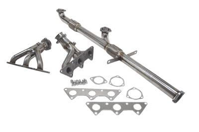 Exhaust - Headers - Megan Racing - Mitsubishi Eclipse Megan Racing Exhaust Header - T304 Stainless Steel - MR-SSH-ME00V6