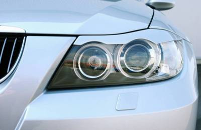 Headlights & Tail Lights - Headlight Covers - Hamann - BMW 3-Series E90 Headlight Eyebrows