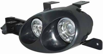 Headlights & Tail Lights - Headlights - Matrix - Dual Projector Headlights with Halo Ring - 91209