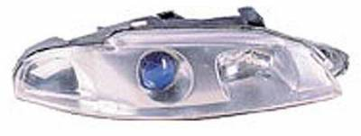 Headlights & Tail Lights - Headlights - I-Tech - I-Tech Chrome and Blue Housing Headlights with Halo Ring - 02ME9799PCB
