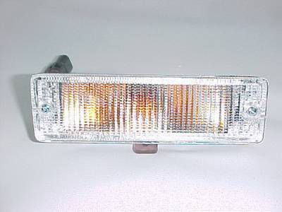 Headlights & Tail Lights - Headlights - In Pro Carwear - Nissan Pickup IPCW Bumper Lights - Front - 1 Pair - CWB-1000