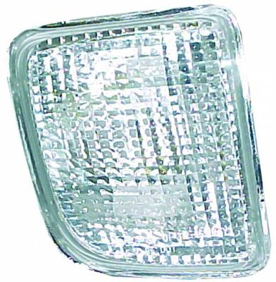 Headlights & Tail Lights - Headlights - In Pro Carwear - Toyota Tacoma IPCW Bumper Lights - Front - 1 Pair - CWB-2010B