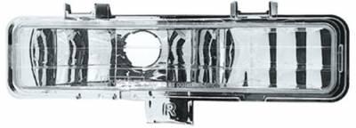 Headlights & Tail Lights - Headlights - In Pro Carwear - GMC S15 IPCW Bumper Lights - Front - 1 Pair - CWB-305C