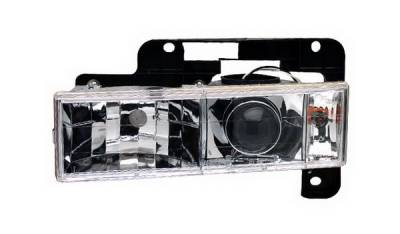 Headlights & Tail Lights - Headlights - In Pro Carwear - Chevrolet Suburban IPCW Headlights - Projector - 1 Pair - CWC-CE12