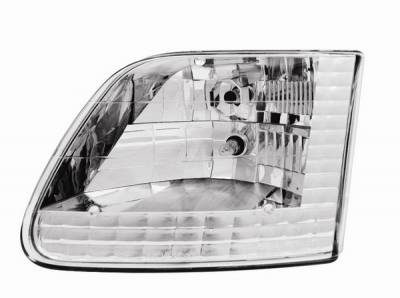 Headlights & Tail Lights - Headlights - In Pro Carwear - Ford F250 IPCW Headlights - Diamond Cut - 1 Pair - CWC-CE15