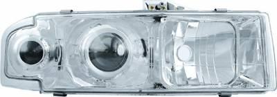 Headlights & Tail Lights - Headlights - In Pro Carwear - GMC Safari IPCW Headlights - Projector - 1 Pair - CWC-CE20