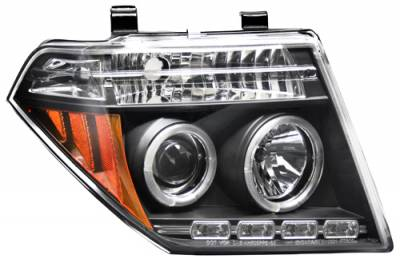 Headlights & Tail Lights - Headlights - In Pro Carwear - Nissan Frontier In Pro Carwear Projector Headlights - CWS-1009B2