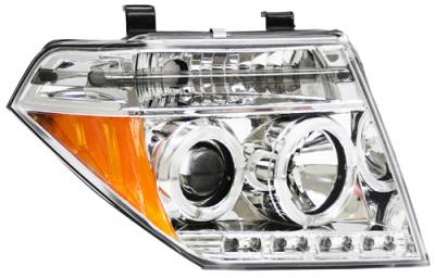 Headlights & Tail Lights - Headlights - In Pro Carwear - Nissan Frontier In Pro Carwear Projector Headlights - CWS-1009C2
