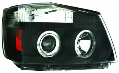 Headlights & Tail Lights - Headlights - In Pro Carwear - Nissan Titan IPCW Headlights - Projector - 1 Pair - CWS-1114B2