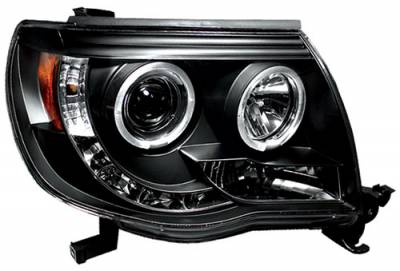 Headlights & Tail Lights - Headlights - In Pro Carwear - Toyota Tacoma In Pro Carwear Projector Headlights - CWS-2040B2