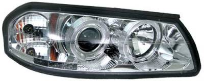 Headlights & Tail Lights - Headlights - In Pro Carwear - Chevrolet Impala In Pro Carwear Projector Headlights - CWS-316C2